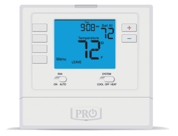 cf t715 pro1 programmable digital thermostat 7 day or 5 1 1 2 heat 2 cool