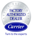 carrier factory dealer logo transparent 135x149