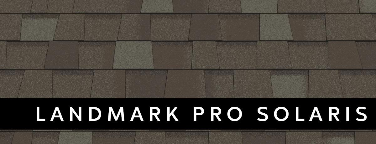 landmark pro solaris roof design
