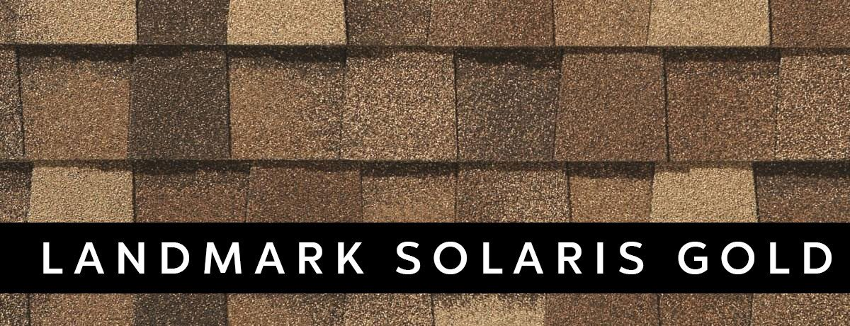 landmark solaris gold roofing design