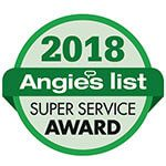foster exteriors window company angie list super service award 2018 - Home
