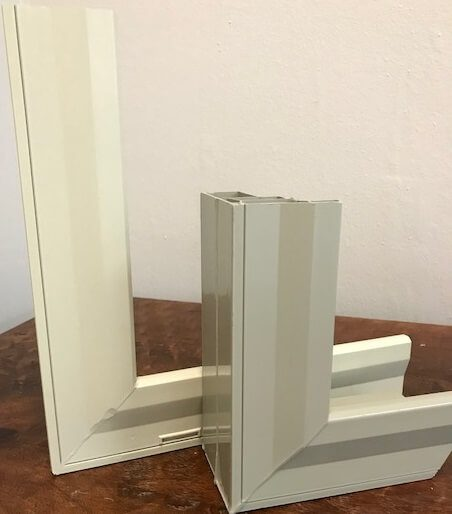 replacement windows burris techview ac frame cut away - Windows