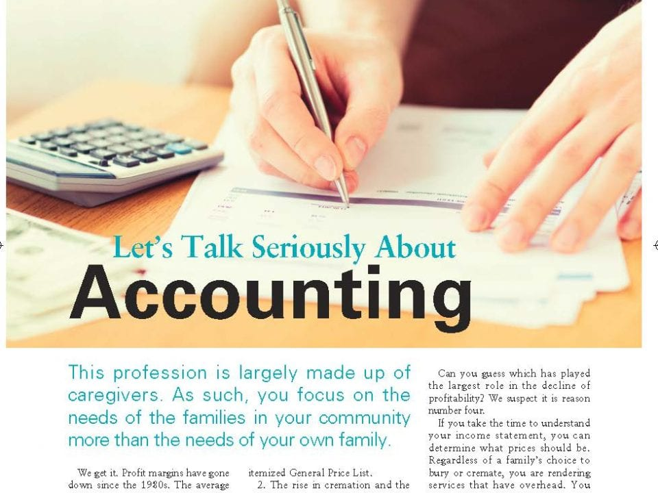 Funeral And Cemetery Consultants Catherine Belliveau Lets Talk About Accounting Page 1 833x1024