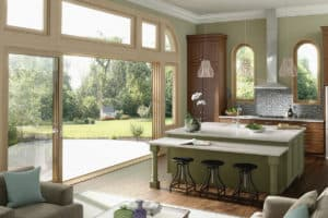 milgard moving glass kitchen sliding doors 300x200