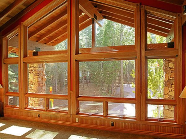 Create a Natural Style with Wood Windows