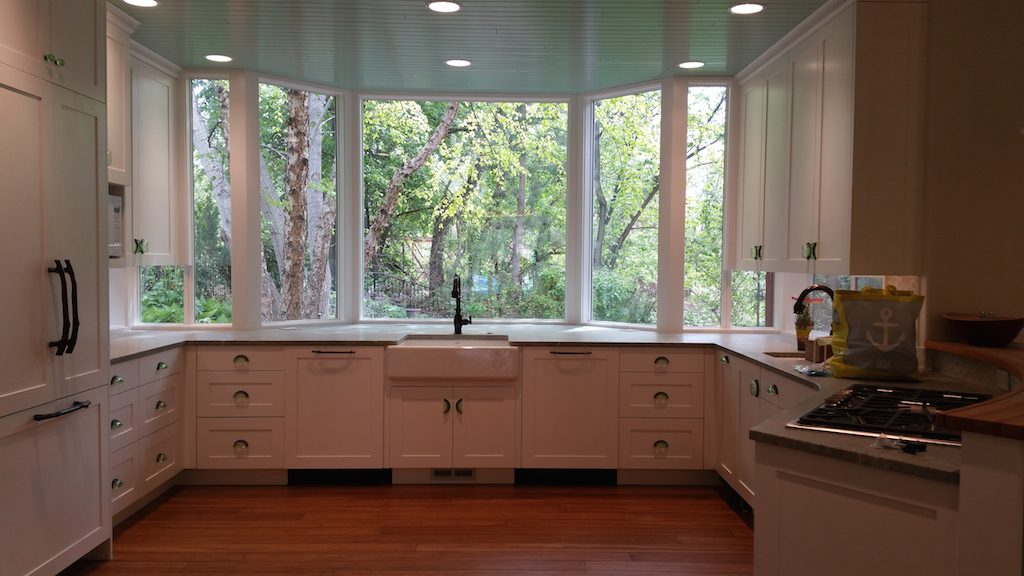 Milgard kitchen remodel Style Line and Montecito windows 1