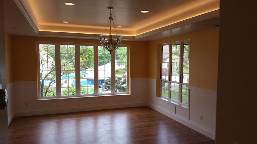 Milgard kitchen remodel Style Line and Montecito windows 2