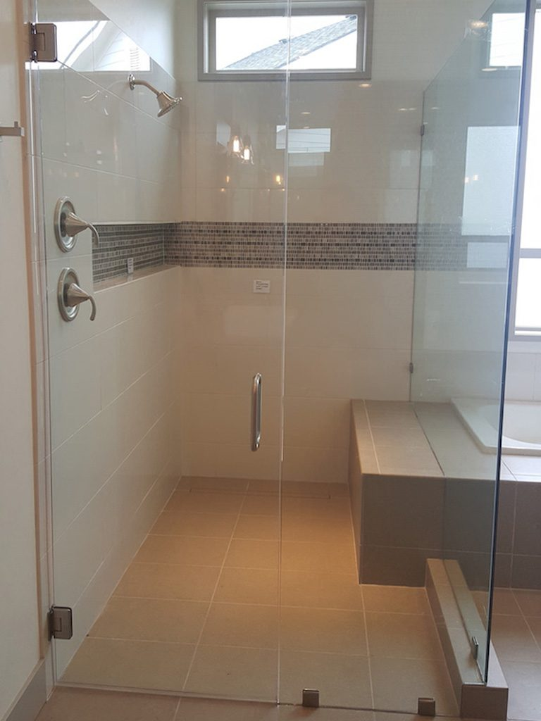 shower and mirrors 9 1