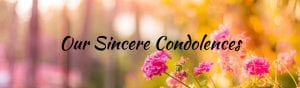 Our Condolences Funeral Home And Cremation Lincoln CA