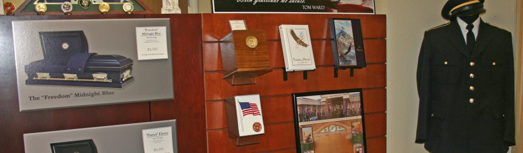 Products For Veterans Funeral Home And Cremations Roseville CA