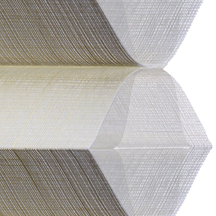 Duette Fabric: Architella® Batiste Semi-Sheer   Color: Linen