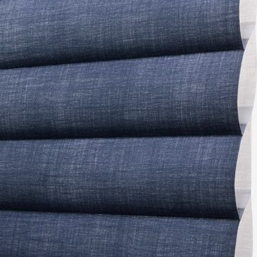 Sonnette Fabric: Elan®   Color: Weathered Navy
