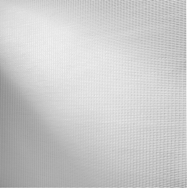 Designer Roller Shades Fabric: Fiji Dimout   Color: White Lotus