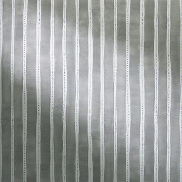 Design Studio Roller Shades Fabric: Dotted Stripe   Color: Gray-wood
