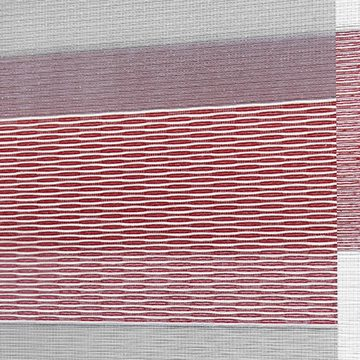 Designer Banded Shades Fabric: Millennium   Color: Cherrywood