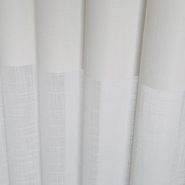Luminette Fabric: Sheer Linen   Color: White Dawn